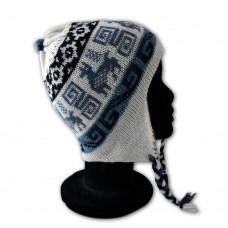 Bonnet péruvien enfant noir