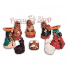 Crèche péruvienne modèle Inca