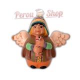 Ange de noël péruvien modèle quena andine