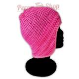 Bonnet péruvien modèle Pérou couleur rose