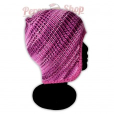 Bonnet péruvien modèle Pérou couleur violet clair