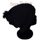 Bonnet beanie couleur noir