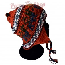 Bonnet Péruvien orange