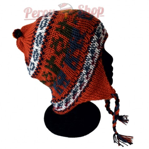 Bonnet Péruvien orange