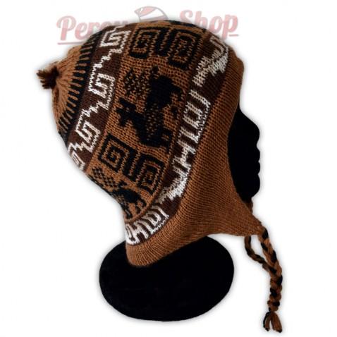 Bonnet péruvien modèle Tiahuanaco