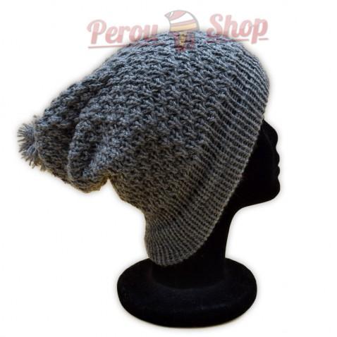 Bonnet beanie couleur gris