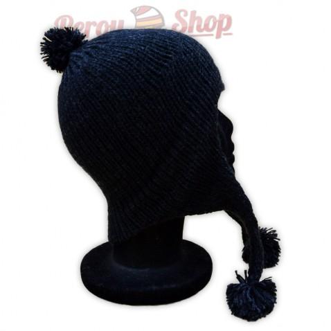 Bonnet péruvien noir