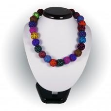 Collier modèle Energia Inca couleur fuschia