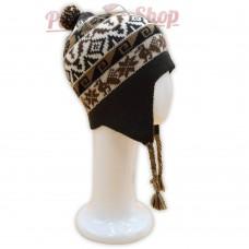 Bonnet Péruvien homme ou femme en laine d'alpaga