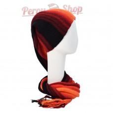 Echarpe bonnet en alpaga modèle Lima