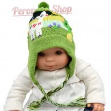 Bonnet péruvien bébé