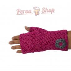 Mitaines tricotées à la main