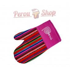 Gants de cuisine en tissu Inca modèle Peru