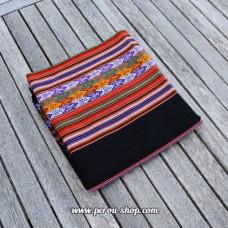 Tissu péruvien couleur noir