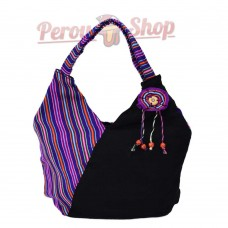Sac en tissu péruvien modèle Titicaca
