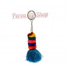 Porte clés originaux multicolores