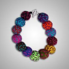 Bracelet modèle Energia Inca couleur fushia