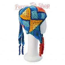 Bonnet péruvien Inca