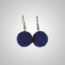 Boucles d'oreilles modèle Alegria Andine couleur turquoise