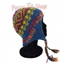 Bonnet Péruvien en laine d'alpaga