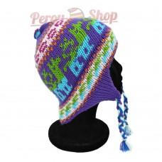 Bonnet Péruvien violet