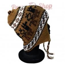 Bonnet péruvien modèle Quipu