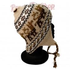 Bonnet Péruvien lama des Andes