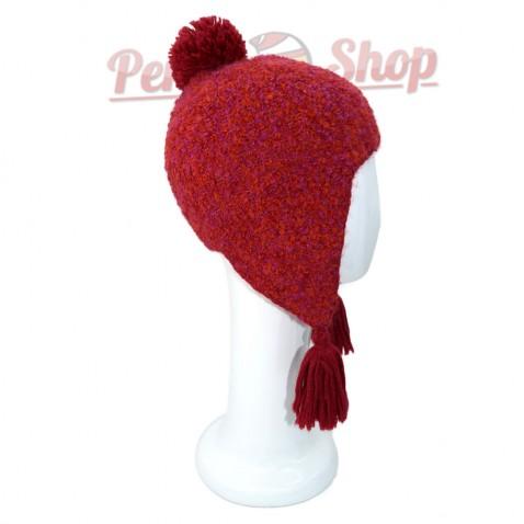 Bonnet Péruvien en laine baby alpaga