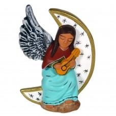 Ange de noël péruvien modèle musicienne