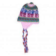 Bonnet péruvien pour enfant modèle wawita