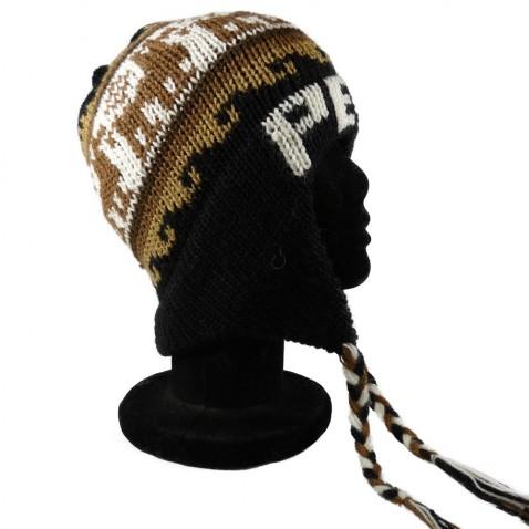 Bonnet Péruvien Noir Peru 2