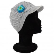 Bonnet casquette gris