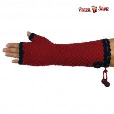 Mitaines longues en laine d'alpaga