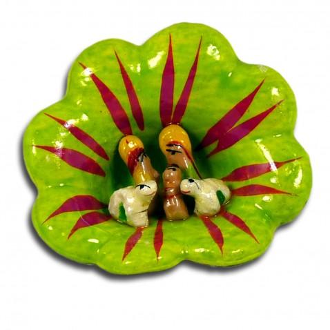 Mini-crèche modele petites Fleurs