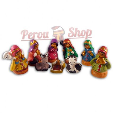 Crèche péruvienne modèle Reyes Magos