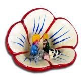 Mini-crèche modèle Fleur