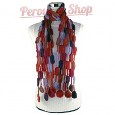 Echarpe en laine alpaga