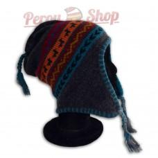 Bonnet Péruvien modèle Lamas des Andes
