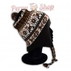 Bonnet Péruvien modèle Inca