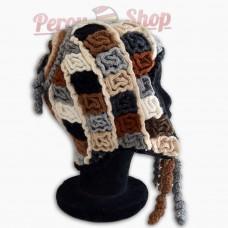 Bonnet Péruvien modèle Terre des Andes
