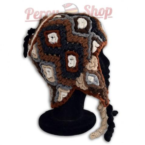 Bonnet Péruvien modèle Terres Andines