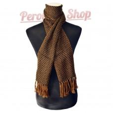 Echarpe Péruvienne en laine d'alpaga